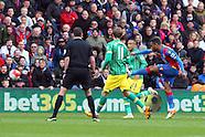 Crystal Palace v Norwich City 090416