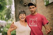 Lane Selman and Dan Sullivan of Black Locust Farm