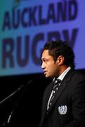 Auckland captain Ben Atiga.<br />Auckland Rugby Awards Evening, Sky City Convention Centre, Auckland, Friday 31 October 2008. Photo: Renee McKay/PHOTOSPORT