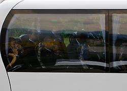17.05.2010, Flughafen, Graz, AUT, FIFA Worldcup Vorbereitung, Ankunft England, im Bild Ankunft des englischen Teams am Flughafen Graz Thalerhof, Wayne Rooney (Manchester United),EXPA Pictures © 2010, PhotoCredit: EXPA/ S. Zangrando / SPORTIDA PHOTO AGENCY