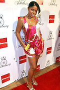 Mashonda at the Kimora Lee Simmons celebration of the launch of her new fashion collections Fabulosity at JC Penny with party at Hiro on July 16, 2008..Fabulosity is a complete sportswear collection catering to authentic teen girls who want to show the world how fabulous they really are. The line hits JCPenney stores this week featuring tees, knit tops and sweaters, jeans, skirts, dresses, hoodies, jackets and outerwear. The collection embodies a lifestyle of confidence, beauty and fashion sense - at an even more fabulous price point ($29 to $108)..