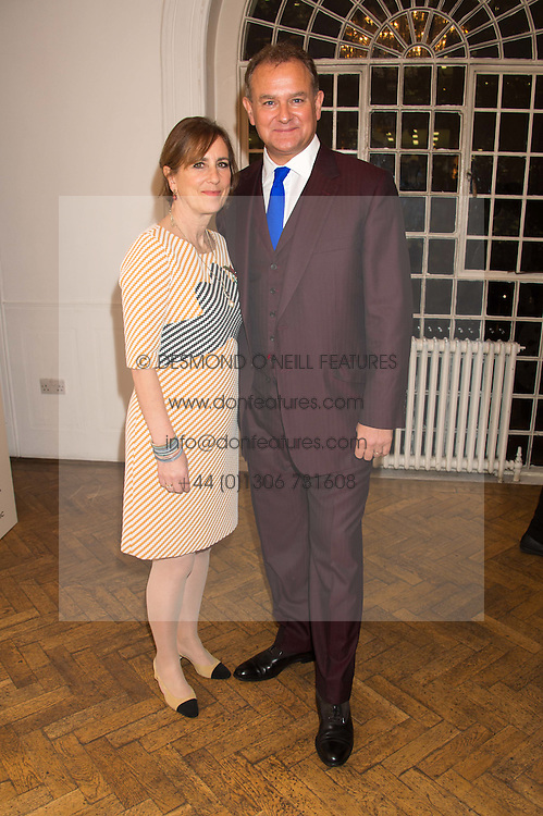 HUGH BONNEVILLE and KIRSTY WARK at a gala dinner to celebrate 15 Years of mothers2mothers hosted by Annie Lennox held at One Marylebone, 1 Marylebone Road, London NW1on 3rd November 2015.