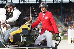 Dobrovitz Jozsef, (HUN), Conversano Carlos, Ikar, Incitato Pandur, Kinzhal and Denis Nielsen<br /> Tank & rast Preis<br /> Weltfest des Pferdesports Aachen 2015<br /> © Hippo Foto - Dirk Caremans<br /> 30/05/15
