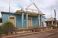 Masonic lodge in Santa Lucia, Pinar del Rio, Cuba.