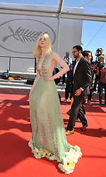 "70 Cannes Film Festival, Red Carpet film ""How to take girls to parties"". 21 May 2017 Pictured: Red Carpet film ""How to take girls to parties"" Elle Fanning. Photo credit: Pongo / MEGA TheMegaAgency.com +1 888 505 6342"