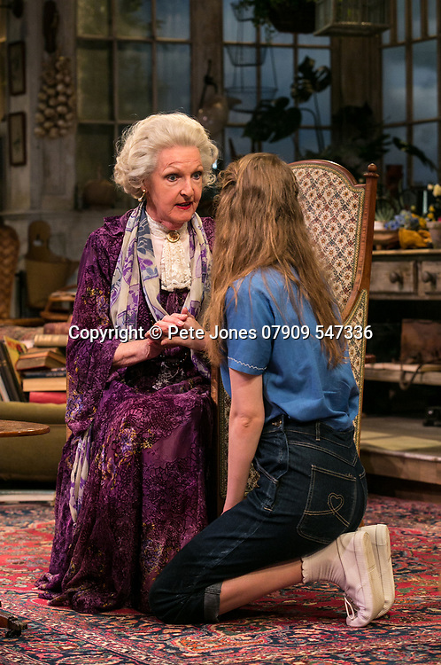 The Chalk Garden by Enid Bagnold;<br /> Directed by Alan Strachan;<br /> Penelope Keith (as Mrs St Maugham);<br /> Emma Curtis (as Laurel);<br /> Chichester Festival Theatre, Chichester.<br /> 30 May 2018.<br /> © Pete Jones<br /> pete@pjproductions.co.uk