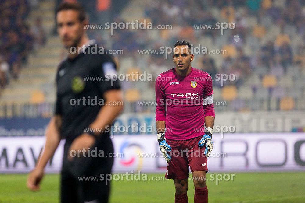 Dejan Milic of NK Domzale during football match between NK Maribor and NK Domzale in 5th Round of Prva liga Telekom Slovenije 2017/18, on August 11, 2017 in Ljudski vrt, Maribor, Slovenia. Photo by Ziga Zupan / Sportida