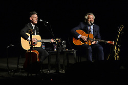 Lyle Lovett and Robert Earl Keen In Concert. 05 Nov 2018 Pictured: Lyle Lovett, Robert Earl Keen. Photo credit: MPI04/Capital Pictures / MEGA TheMegaAgency.com +1 888 505 6342
