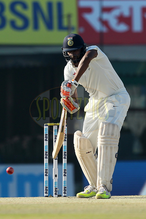 Ravichandran Ashwin of India in action during day 3 of the third test match between India and England held at the Punjab Cricket Association IS Bindra Stadium, Mohali on the 28th November 2016.Photo by: Prashant Bhoot/ BCCI/ SPORTZPICS