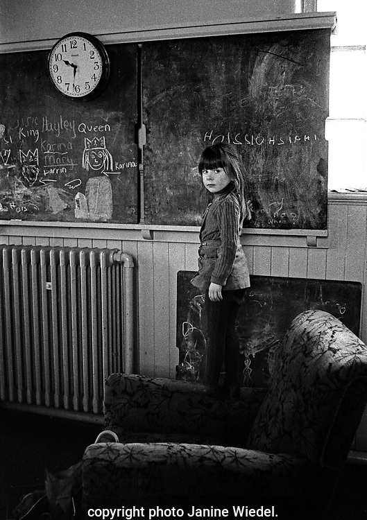 Scotland Road free school in Liverpool 1973