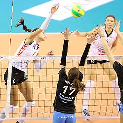 20161101: SLO, Volleyball - CEV Women Champions League,Calcit Ljubjana v Liu Jo Nordmeccanica Modena