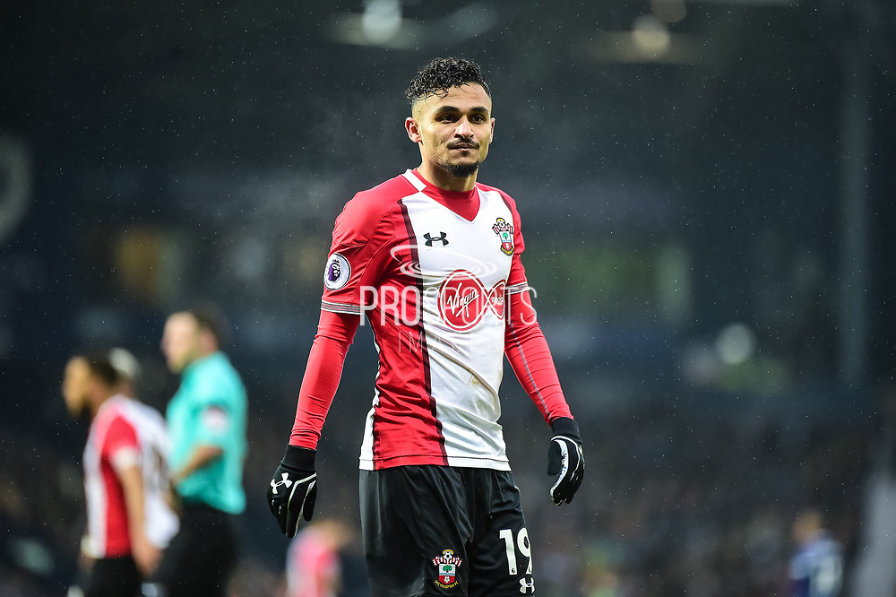 Southampton midfielder Sofiane Boufal (19) during the Premier League match between West Bromwich Albion and Southampton at The Hawthorns, West Bromwich, England on 3 February 2018. Picture by Dennis Goodwin.