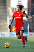 Leyton Orient midfielder Sandro Semedo (22) during the EFL Sky Bet League 2 match between Leyton Orient and Notts County at the Matchroom Stadium, London, England on 18 February 2017. Photo by Andy Walter.