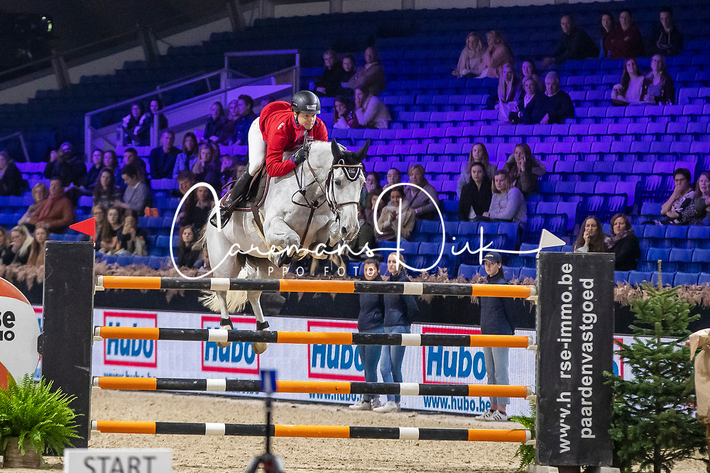 Vernaet Frederic, BEL, Born To Win AP Z<br /> Jumping Mechelen 2019<br /> © Hippo Foto - Dirk Caremans<br />  26/12/2019