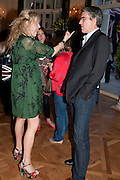 GUY FURNESS; ALISON ? , Imogen Edwards-Jones - book launch party for ' Hospital Confidential' Mandarin Oriental Hyde Park, 66 Knightsbridge, London, 11 May 2011. <br />  <br /> -DO NOT ARCHIVE-© Copyright Photograph by Dafydd Jones. 248 Clapham Rd. London SW9 0PZ. Tel 0207 820 0771. www.dafjones.com.