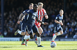 Dru Yearwood of Southend United runs at the Sunderland defence - Mandatory by-line: Arron Gent/JMP - 04/05/2019 - FOOTBALL - Roots Hall - Southend-on-Sea, England - Southend United v Sunderland - Sky Bet League One