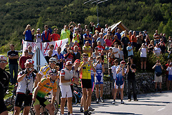 Fans at 1st stage of Tour de Slovenie 2009 from Koper (SLO) to Villach (AUT),  229 km, on June 18 2009, in Koper, Slovenia. (Photo by Vid Ponikvar / Sportida)
