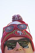 San Francisco 49ers fans watch game play between the San Francisco 49ers and the Arizona Cardinals at Levi's Stadium in Santa Clara, Calif., on November 5, 2017. (Stan Olszewski/Special to S.F. Examiner)