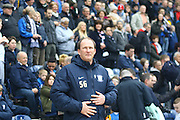 Simon Grayson during the Sky Bet Championship match between Preston North End and Queens Park Rangers at Deepdale, Preston, England on 19 March 2016. Photo by Pete Burns.