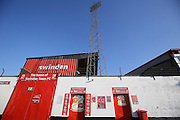 Swindon Town County Ground before the EFL Sky Bet League 1 match between Swindon Town and Peterborough United at the County Ground, Swindon, England on 21 January 2017. Photo by Gary Learmonth.