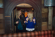 ANNABEL SIMPSON; ASTRID HARBORD, The launch of Beaver Lodge in Chelsea, a cabin bar and dance saloon, 266 Fulham Rd. London. 4 December 2014