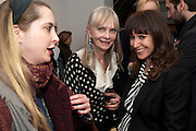 DAISY DE VILLENEUVE; JAN DE VILLENEUVE; ANNIE MORRIS, There is a Land Called Loss | Annie Morris | Pertwee Andersen and Gold, in association with Adam Waymouth Art , Private View, 15 bateman st. W1 2nd February 2012