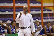 DESCRIZIONE : Elettra Pescara Giochi del Mediterraneo 2009 Mediterranean Games Italia Grecia Italy Greece Semifinal Women<br /> GIOCATORE : Giampiero Ticchi<br /> SQUADRA : Italia Italy<br /> EVENTO : Elettra Pescara Giochi del Mediterraneo 2009<br /> GARA : Italia Grecia Italy Greece<br /> DATA : 30/06/2009<br /> CATEGORIA : coach ritratto<br /> SPORT : Pallacanestro<br /> AUTORE : Agenzia Ciamillo-Castoria/C.De Massis