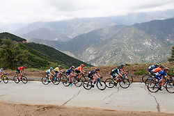 Lisa Klein (GER) in the lead group at Amgen Tour of California Women's Race empowered with SRAM 2019 - Stage 2, a 74 km road race from Ontario to Mount Baldy, United States on May 17, 2019. Photo by Sean Robinson/velofocus.com