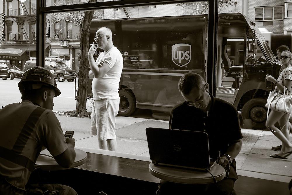 Starbucks, 2nd Avenue, New York City.
