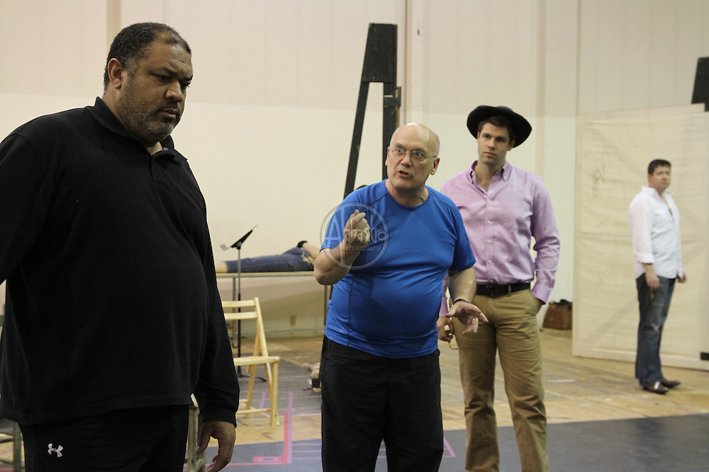 Seattle Opera Porgy and Bess studio rehearsal.