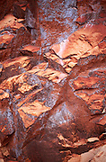 Rock detail, N. Kaibab Trl., Roaring Springs Canyon, Grand Canyon Natl. Park, Arizona..Media Usage:.Subject photograph(s) are copyrighted Edward McCain. All rights are reserved except those specifically granted by McCain Photography in writing...McCain Photography.211 S 4th Avenue.Tucson, AZ 85701-2103.(520) 623-1998.mobile: (520) 990-0999.fax: (520) 623-1190.http://www.mccainphoto.com.edward@mccainphoto.com.