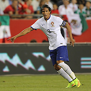 Bruno Alves, Portugal, during the Portugal V Mexico International Friendly match in preparation for the 2014 FIFA World Cup in Brazil. Gillette Stadium, Boston (Foxborough), Massachusetts, USA. 6th June 2014. Photo Tim Clayton