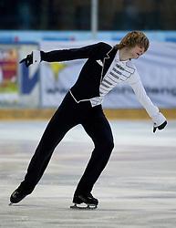 13.11.2010, Eishalle Liebenau, AUT, Icechallenge 2010, im Bild Jakub Strobl (SVK) bei der Kür Herren, EXPA Pictures © 2010, PhotoCredit: EXPA/ Erwin Scheriau