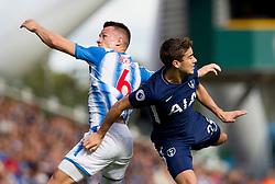 30 September 2017 - Premier League - Huddersfield Town v Tottenham Hotspur   - Jonathan Hogg of Huddersfield Town and Harry Winks of Tottenham Hotspur in action  - Photo: Chloe Knott