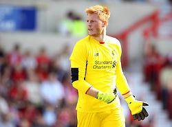 Liverpool's Adam Bogdan - Mandatory by-line: Robbie Stephenson/JMP - 07966386802 - 02/08/2015 - SPORT - FOOTBALL - Swindon,England - County Ground - Swindon Town v Liverpool - Pre-Season Friendly