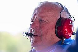 April 21, 2018 - Birmingham, Alabama, United States of America - Team Owner, AJ Foyt, Jr. waits for a practice session for the Honda Indy Grand Prix of Alabama at Barber Motorsports Park in Birmingham Alabama. (Credit Image: © Walter G Arce Sr Asp Inc/ASP via ZUMA Wire)