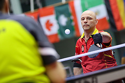 TOLEDO Miguel Angel of Spain at 14th Slovenia Open - Thermana Lasko 2017 Table Tennis Championships for the Disabled Factor 2, on May 9, 2017, in Dvorana Tri Lilije, Lasko, Slovenia. Photo by Matic Klansek Velej / Sportida