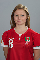 TREFOREST, WALES - Tuesday, February 14, 2011: Wales' Sarah Wiltshire. (Pic by David Rawcliffe/Propaganda)