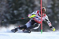 06.01.2014, Stelvio, Bormio, ITA, FIS Weltcup Ski Alpin, Bormio, Slalom, Herren, im Bild Mario Matt // Mario Matt  in action during mens Slalom of the Bormio FIS Ski World Cup at the Stelvio in Bormio, Italy on 2014/01/06. EXPA Pictures © 2014, PhotoCredit: EXPA/ Sammy Minkoff<br /> <br /> *****ATTENTION - OUT of GER*****