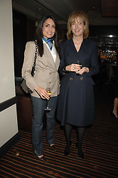 Left to right, RENU MEHTA and JULIA PEYTON-JONES at a lunch hosted by Ralph Lauren to present their Spring 2007 collection in support of the Serpentine Gallery's Education Programme, held at Fifty, 50 St.James's Street, London SW1 on 20th March 2007.<br /><br />NON EXCLUSIVE - WORLD RIGHTS