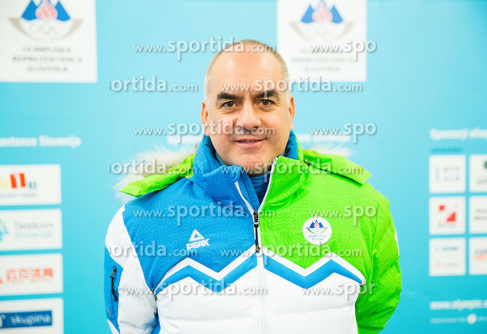 Andreja Slokar during presentation of Slovenian Young Athletes before departure to EYOF (European Youth Olympic Festival) in Vorarlberg and Liechtenstein, on January 21, 2015 in Bled, Slovenia. Photo by Vid Ponikvar / Sportida