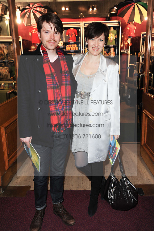 Actress KACEY AINSWORTH and DARREN HALES at the gala opening night of Cirque du Soleil's Varekai at the Royal Albert Hall, London on 5th January 2010.