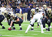 Jan 20, 2019; New Orleans, LA, USA; Los Angeles Rams head coach Sean McVay watches during the NFC Championship against the New Orleans Saints at Mercedes-Benz Superdome. The Rams beat the Saints in overtime 26-23 and head to Super Bowl 53 in Atlanta. (Steve Jacobson/Image of Sport)