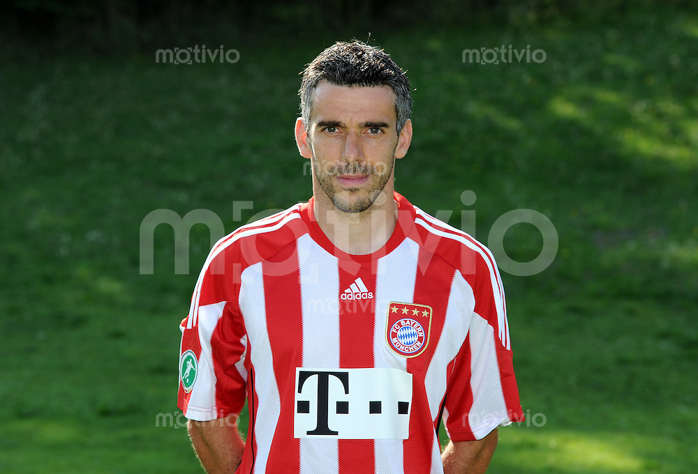FUSSBALL 3. BUNDESLIGA  SAISON 2010/2011      FC Bayern Muenchen II  PORTRAITTERMIN  16.07.2010 Danny Schwarz (FC Bayern II)