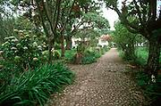 ECUADOR, HIGHLANDS Hacienda Cusin on Lake San Pablo