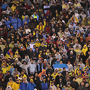 Fans watching the Argentina Vs Ecuador International friendly football match at MetLife Stadium, New Jersey. USA. 31st march 2015. Photo Tim Clayton