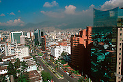 ECUADOR, QUITO, SKYLINE New Town skyscrapers, highrises