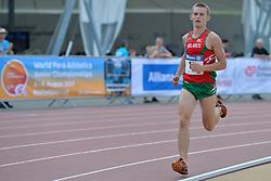 04/08/2017; Lukashevich, Ivan, T13, BLR at 2017 World Para Athletics Junior Championships, Nottwil, Switzerland