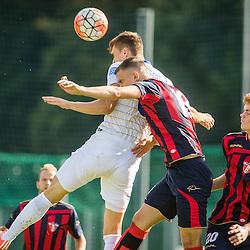 20150915: SLO, Football - Slovenian Cup 2015/16, NK Zarica vs FC Luka Koper
