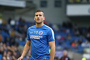Brighton striker, Tomer Hemed (10) during the Sky Bet Championship match between Brighton and Hove Albion and Milton Keynes Dons at the American Express Community Stadium, Brighton and Hove, England on 7 November 2015.